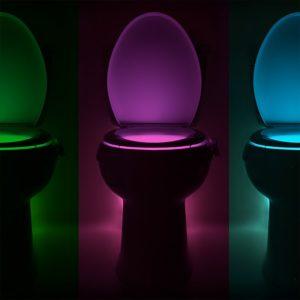 WC ülőke fény