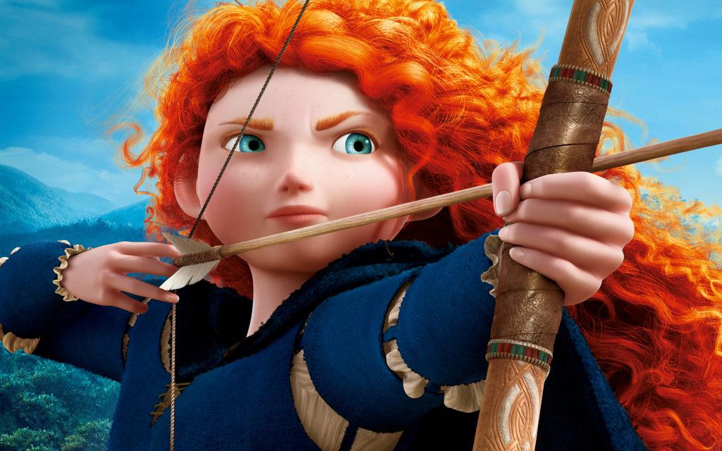 Legjobb Pixar mesék - Merida, a bátor