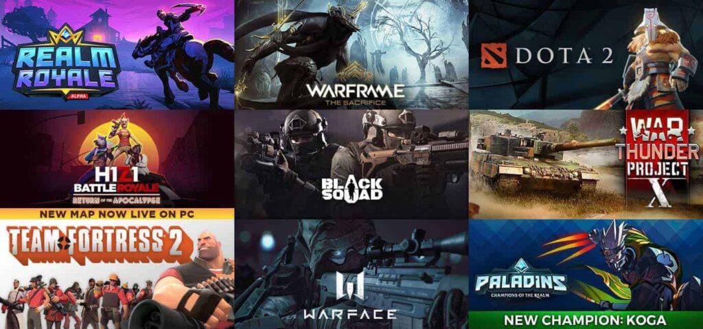 Legjobb ingyenes Steam játékok 2020