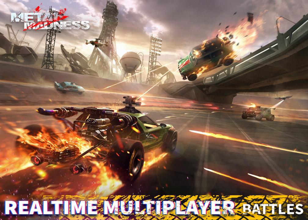 1. kép - A legjobb grafikájú Android játékok egyik befutója: Metal Madness PvP