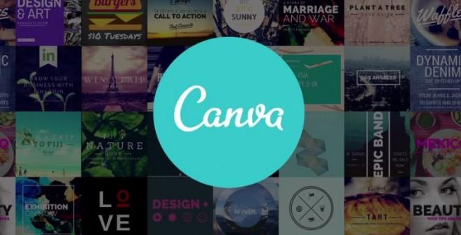 1. kép - A legjobb plakát készítő program egyik jelöltje: Canva