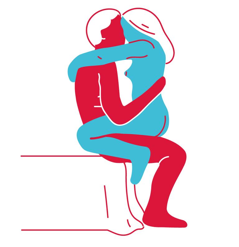 1. kép - A legjobb szexpozíciók - Szemben az ágy szélén